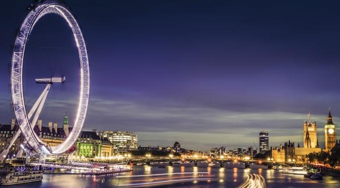 London & New Year Night