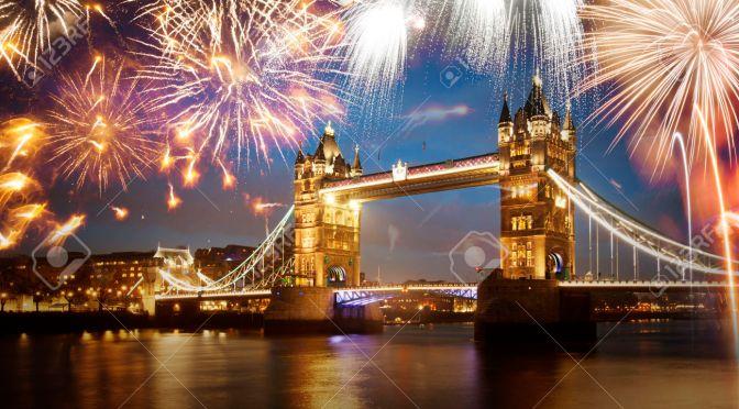 London Eye fireworks. NewYear night 2017 (free tickets)