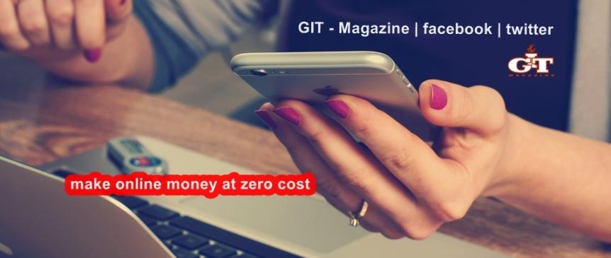 How to make money online with zerocost?
