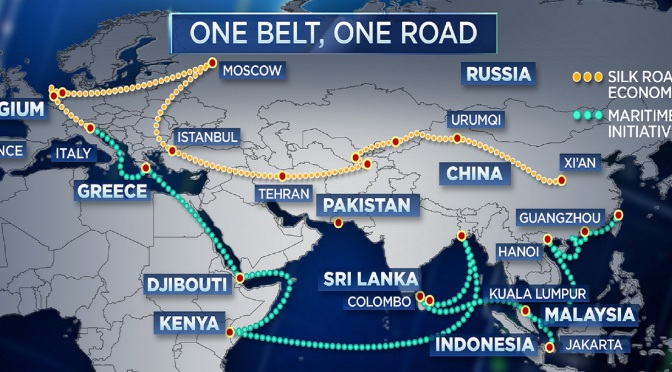 One belt one road, in a quest for global dominance