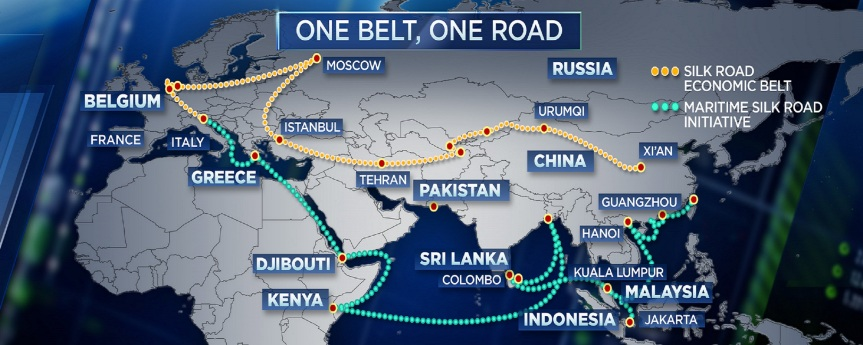 One belt one road, in a quest for globaldominance