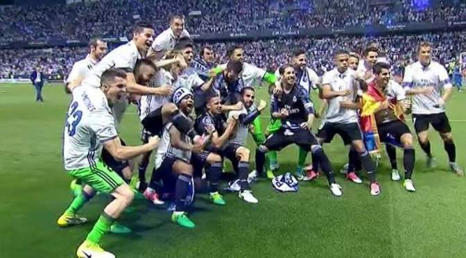 Real Madrid concieved their 33rd LaLiga title and their first in 5 years
