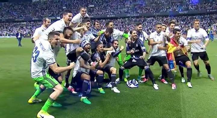 Real Madrid concieved their 33rd LaLiga title and their first in 5years