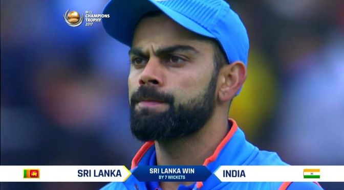 Worst day for Kohli on/off the field.