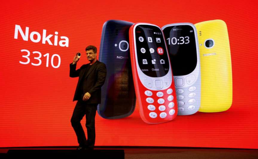 Features of Nokia 3310, charge once a month and leaveit