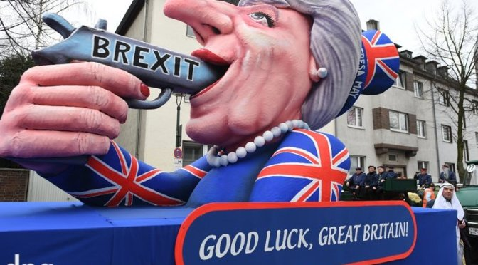 What is British searching for, Brexit?