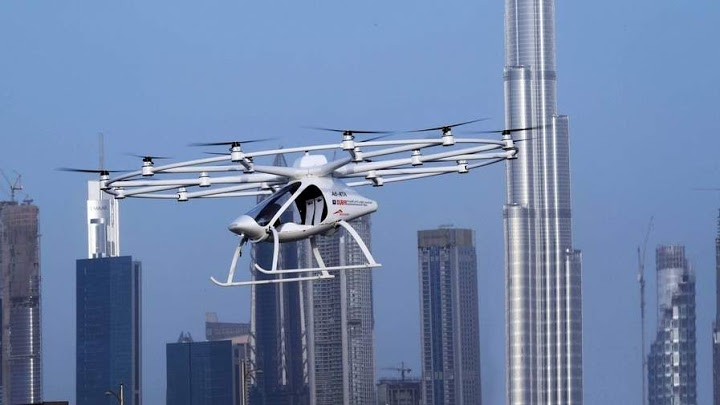 New mode of transport: world's first flying taxi takes off inDubai