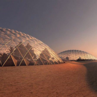 This new city will be a pilot test of Life on Mars