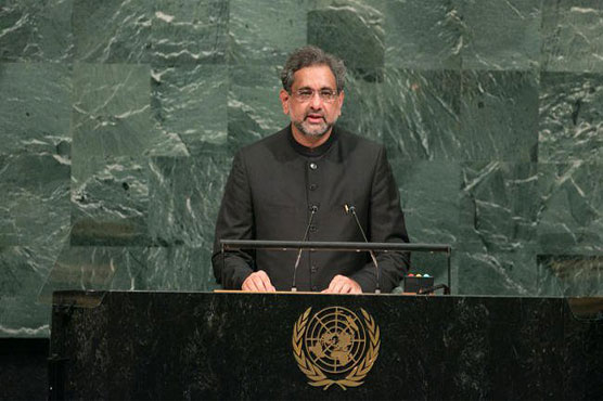 Pak cant be 'scapegoat' for Afghanistan's bloodshed: PM intimated in UN 71st session