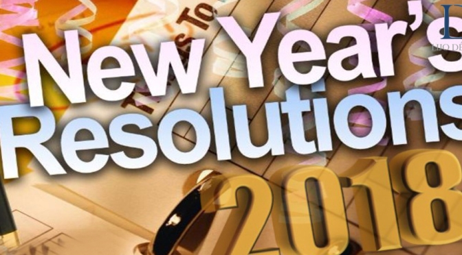 My top 3 New Year Resolutions. Whats yours?