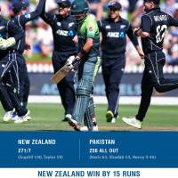 NZ whitewashed PK in 5 match ODI Series
