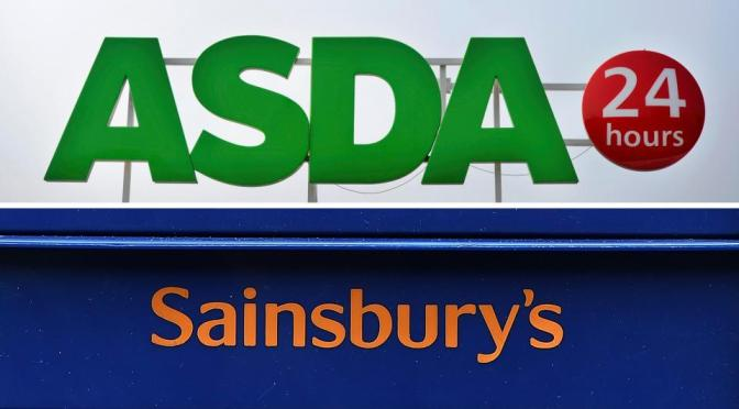 ASDA  owned Walmart merging with Sainsbury to give a brawl to UK biggest retail giant