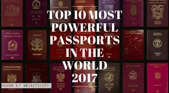 From best Passports in the World to Worst and Why it matters
