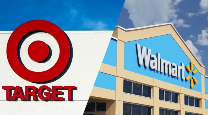 Wall-mart and Target US retail giants are directing their customers towards?