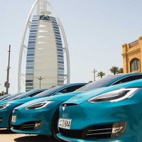 Careem included Model S Tesla in its fleet operation in Dubai
