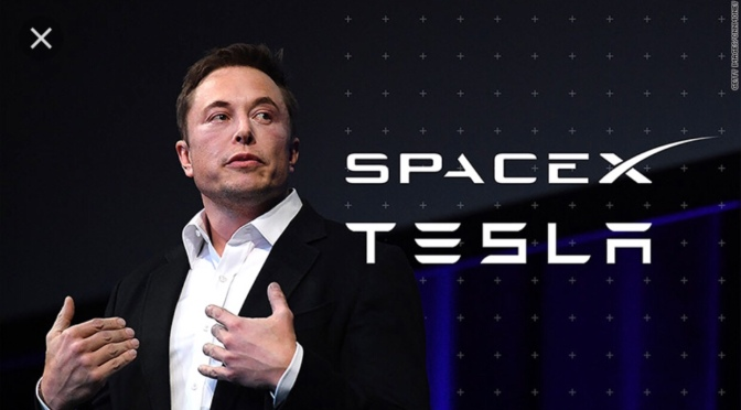 Musk not a person but a persona. Man behind business ventures