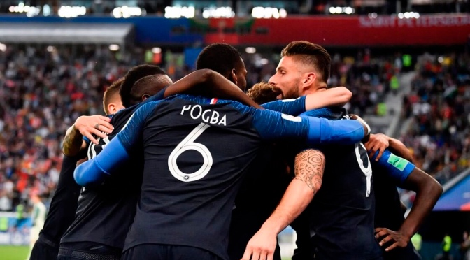 France 3rd time through to final after beating Belgium in semi
