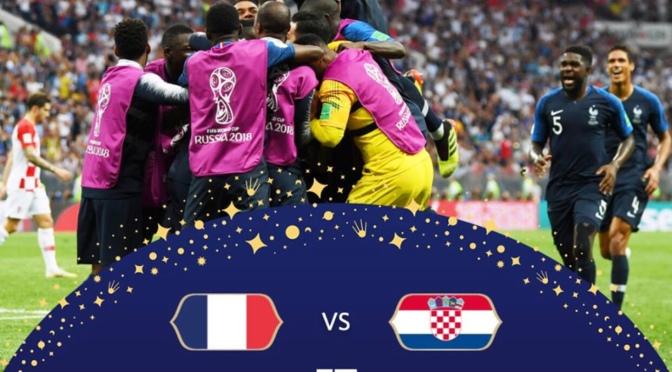 France outclass Croatia in Fifa WorldCup Final Russia 2018