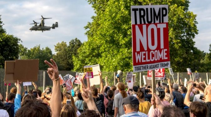 Trump got the most eccentric response from Britishers: May