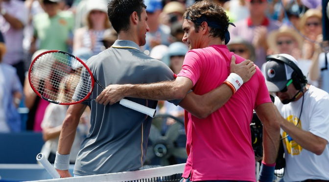 Federer pinching for more , I wanted fewer five-set matches: Novak revealed