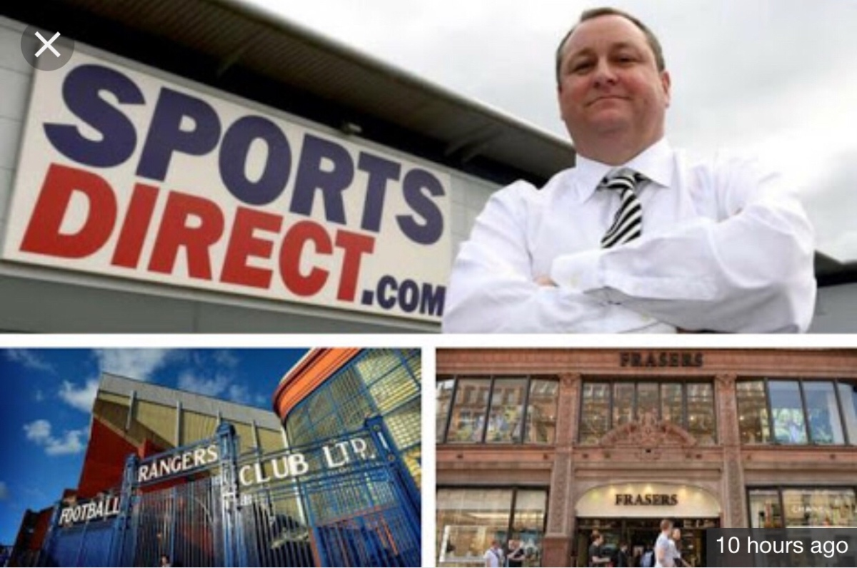 Sports Direct to prevent sinking UK retail House of Fraser: