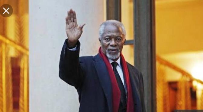 Former Secretary General who Reinvented UN, Kofi Annan Departs At 80 in Switzerland