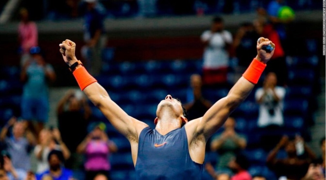Match for the ages : Nadal vs Dominic US Open 2018 video highlights