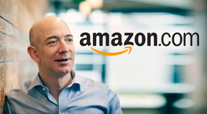 How much a day cost Amazon CEO?
