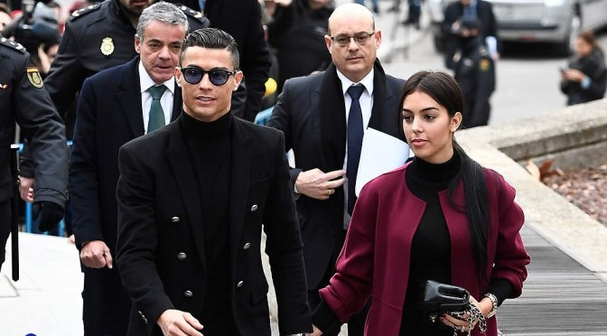 Ronaldo accept tax evasion charges and deal to pay back