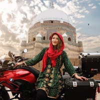 Her solo bike drive in Pakistan and interesting encounters