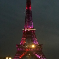 This Eiffel Tower is not in Paris though