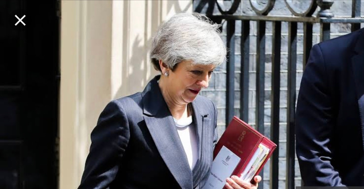 May announced her date of leaving downing street