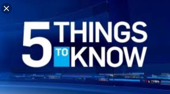 5 Global trending you should know about Monday