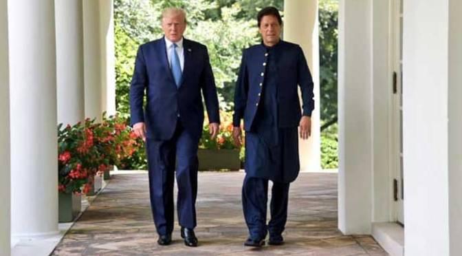 President Trump called PM Khan & Modi urge to moderate Kashmir
