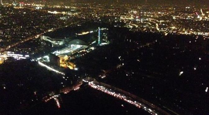 All standstill due to Power outage all across Britain: Blackout