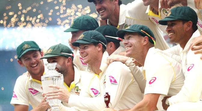 Australia lifted the Ashes urn by virtue of drawing this series and winning the last one down under