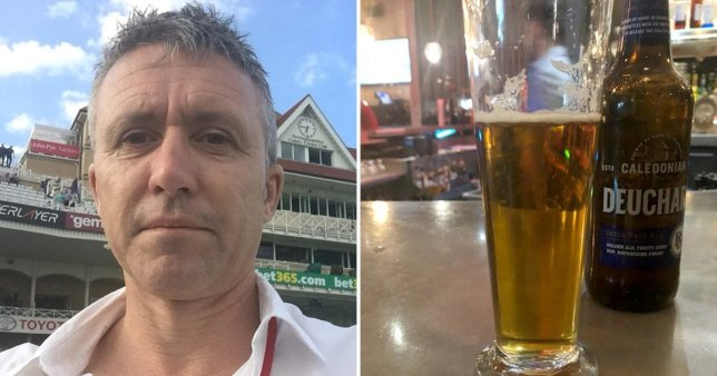 Glasses can cost you a Most expensive beer: Ashes writer in Manchester Hotel
