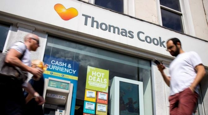 Hays Travel rescued Thomas Cook in calamity